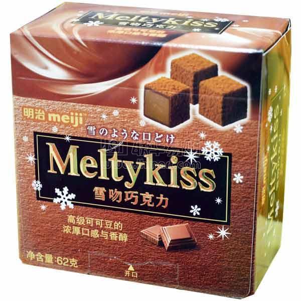 商品名称: 明治雪吻可可味巧克力 商品品牌: 明治糖果 规格重量: 62