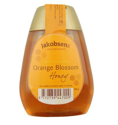 雅各布森 橙花蜂蜜250g