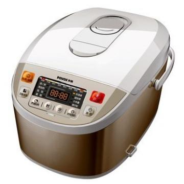 普通电饭煲的结构:普通电饭煲主要由发热盘,限温器,保温开关,杠杆开关