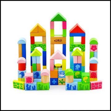 木玩世家 全家欢海洋动物积木 100粒 qjh-1102
