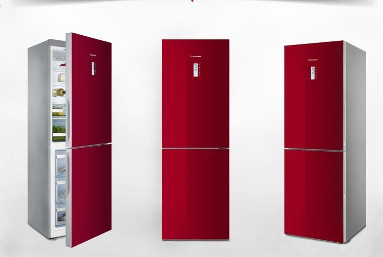 电冰箱/冰柜 电冰箱 >> 海尔(haier)bcd-290wbcz 变频风冷双门冰箱 红