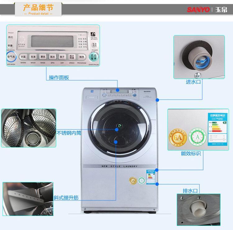三洋滚筒洗衣机接线图